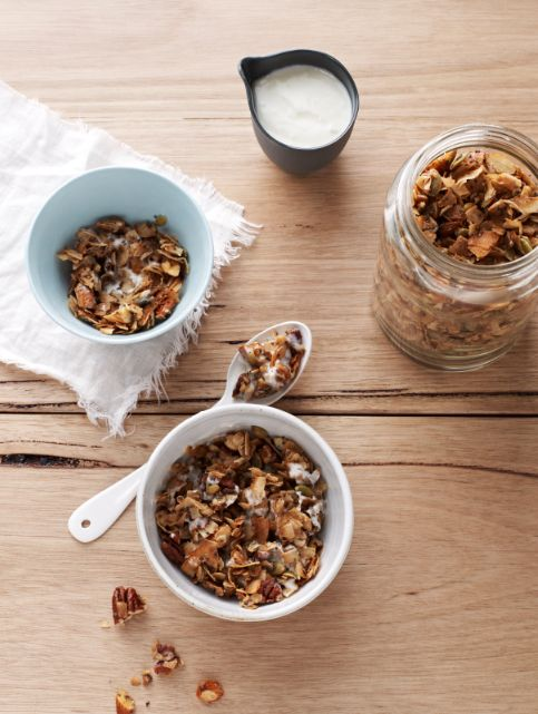 Sarah Wilson shares a popular recipe from her best-selling book, I Quit Sugar: the best granola recipe.