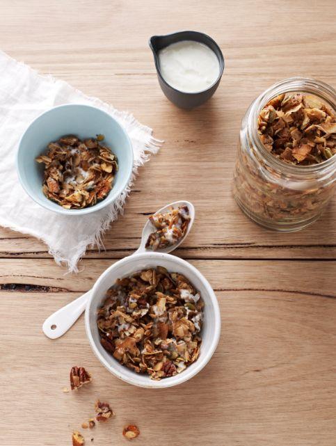 sugar-free granola: the most popular recipe from my cookbook | Sarah Wilson