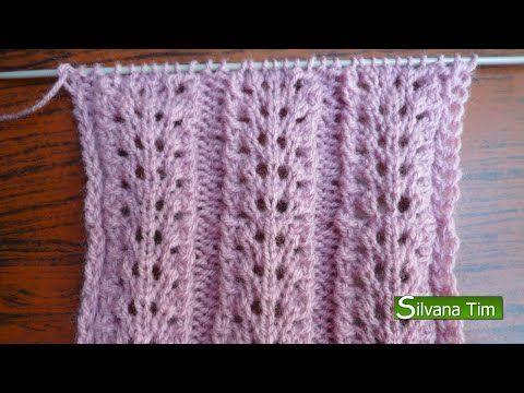PUNTO FANTASIA CALADO Tejido con dos agujas (tejido con dos palollos) Gráfico (patron) del tejido en mi blog http://silvana-tim.blogspot.com.ar/2014/10/punto...