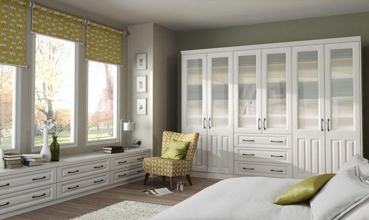 Milano Super White Ash Bedroom