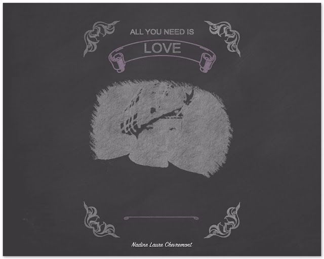 My Daily Drawings Sublimated Arts: All you need is love !!!!!!!!!!!!!!!!!!