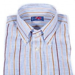 Franco Montanelli's Linen Shirts - Made in Italy