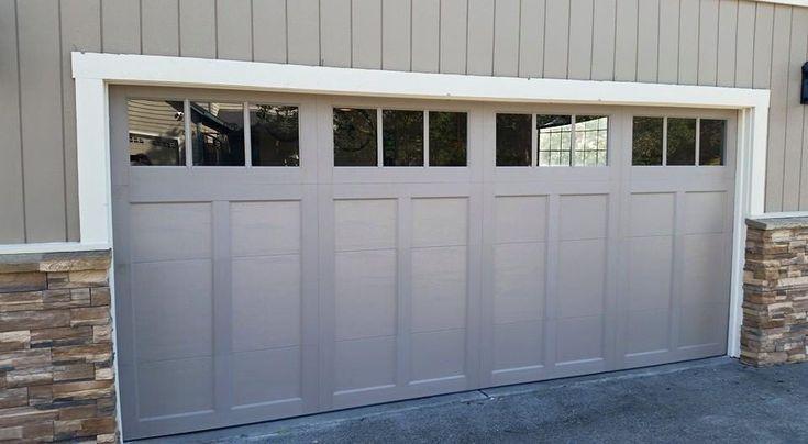 Best 25 double garage door ideas on pinterest carriage garage doors garage doors and double - Timeless carriage style garage doors enhancing high quality exterior value ...