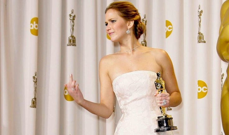 Falling for Jennifer Lawrence by Abi Conners