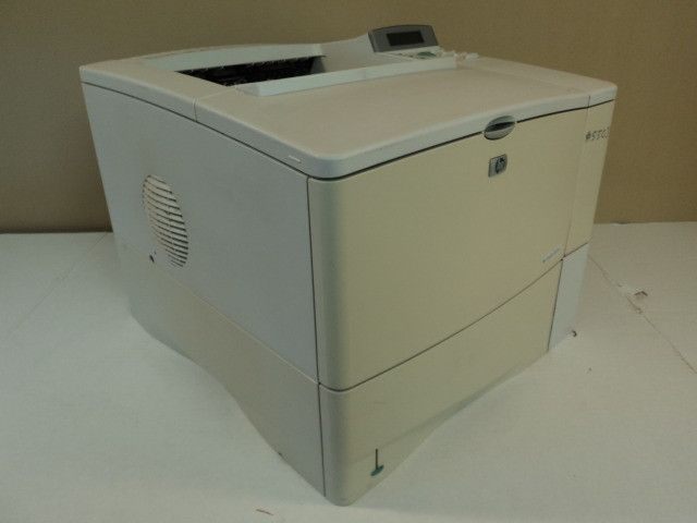 HP Laser Printer Black And White LaserJet 4100n C8050A -- Parts/Not Working