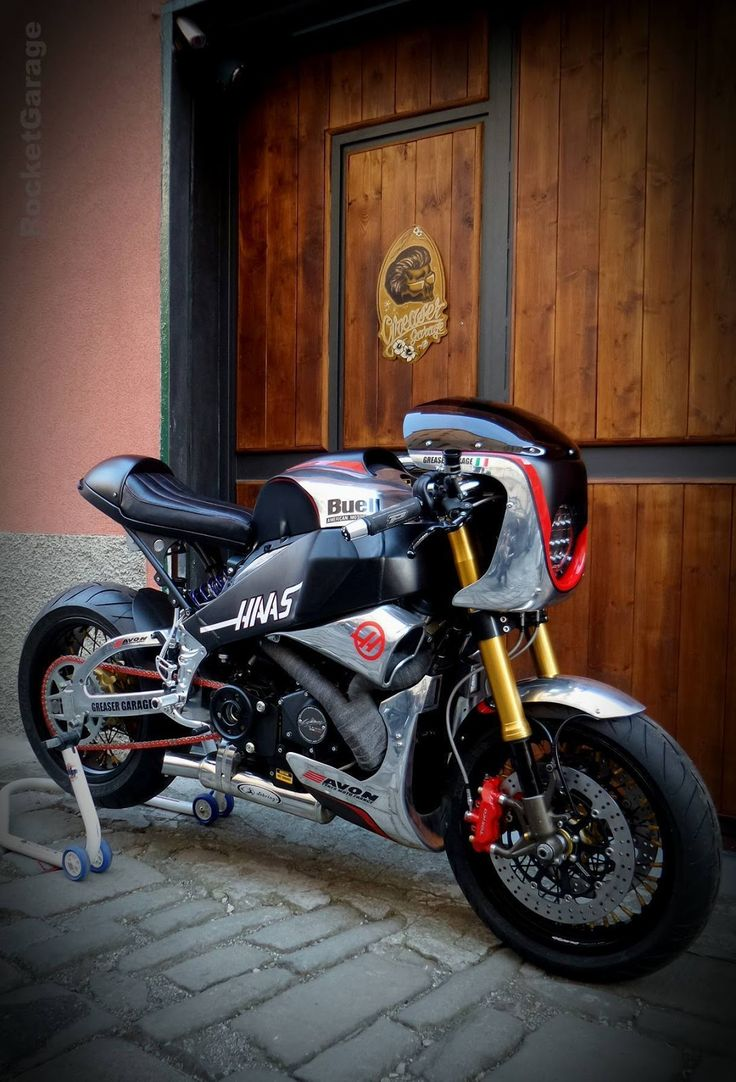 RocketGarage Cafe Racer: Buell XB 12 SS Steel Race