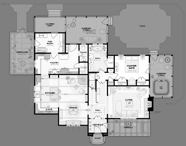 213 best home design plans images on pinterest house for Summerfield designs house plans