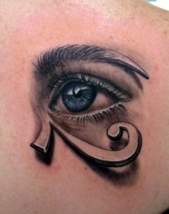 06 Egyptian Eye Tattoo Meaning