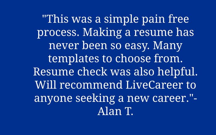 choose livecareer resume check best 17 best images about