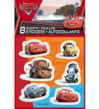 #DisneyCars Sticker Sheet