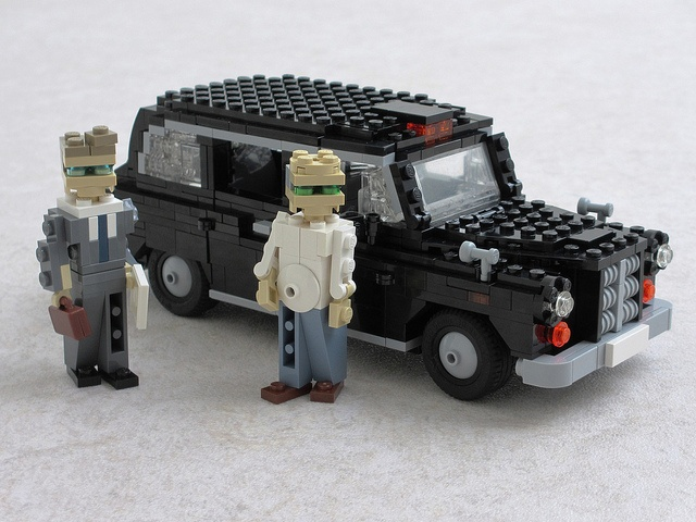 Taxi (by Ralph Savelsberg) #LEGO #Taxi #London