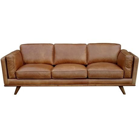 Dahlia 3 Seat Sofa Oxford Tan