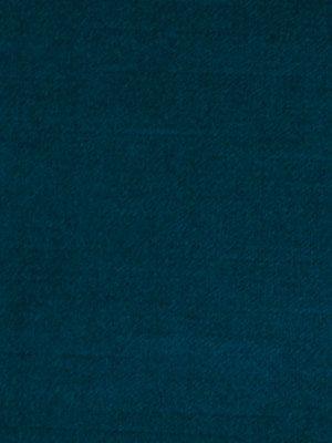 Peacock Blue Velvet Upholstery Fabric by the Yard - Solid Blue Velvet Fabric
