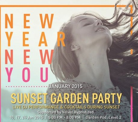 Sunset Garden Party - SAT 10, 17, 24 @beachwalk_bali #partyagendabali @Baliplus
