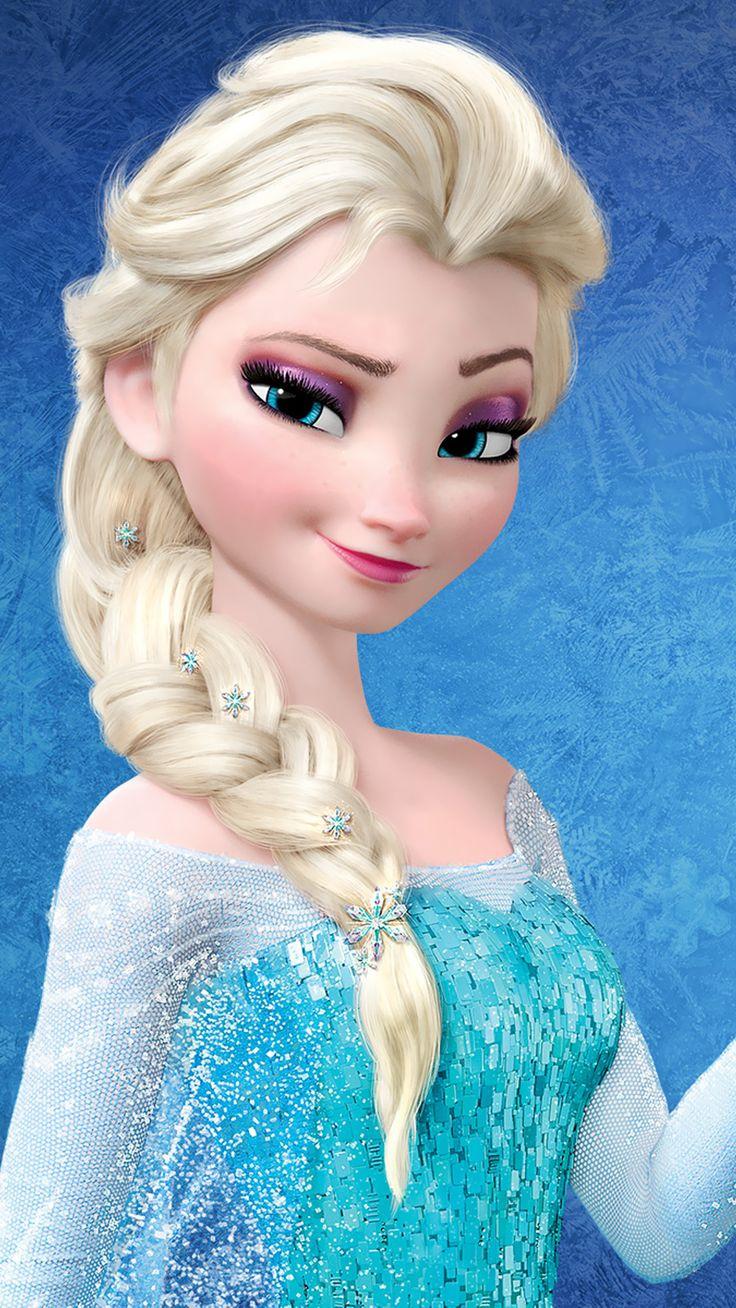 elsa frozen | Elsa - Frozen Mobile Wallpaper 3466