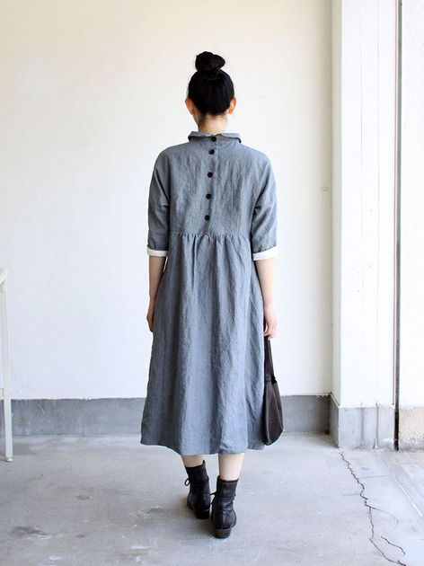 Bergfabel Linen dress 5 /Shirtdress inspo