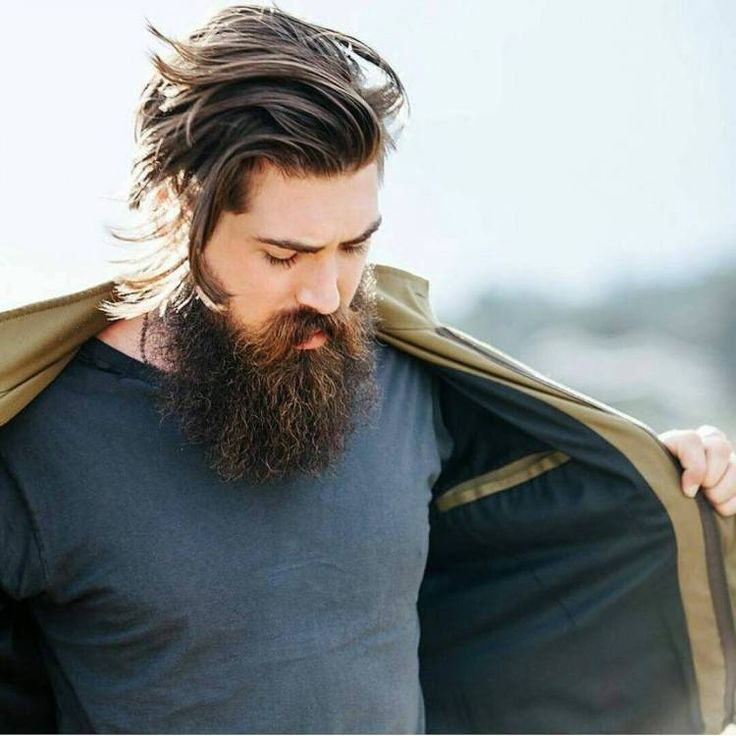 Some of the best beard styles, humor, and bearded men on Instagram! #beards #beardstyles #beardedmen  #BeardsOfInstagram #LuckyAnchor