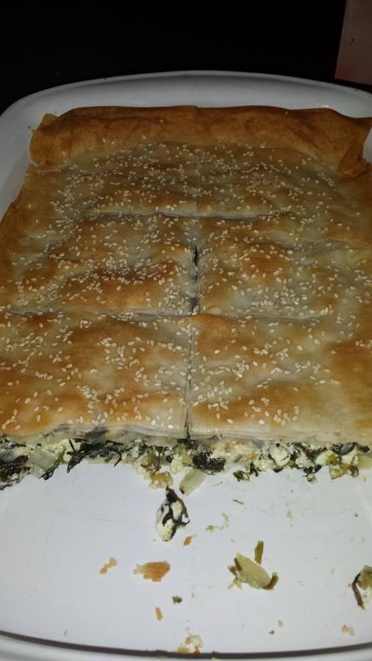 Traditional Greek Spanakopita