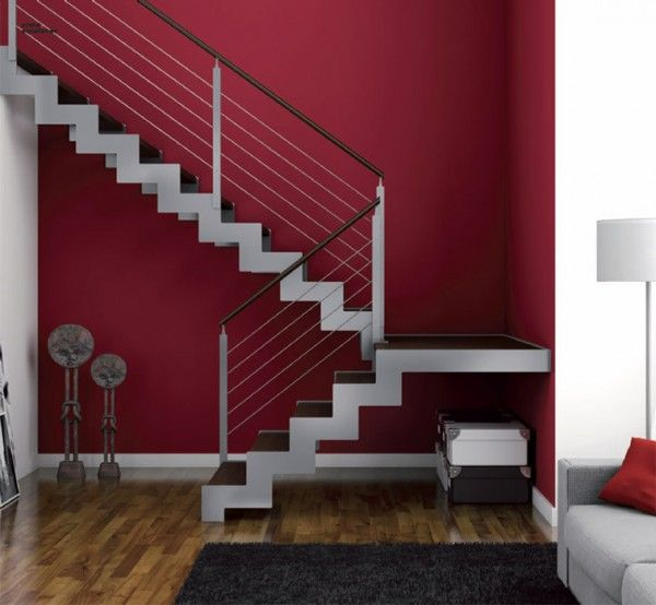 17 best ideas about escaleras metalicas on pinterest for Escaleras metalicas para interiores de casas