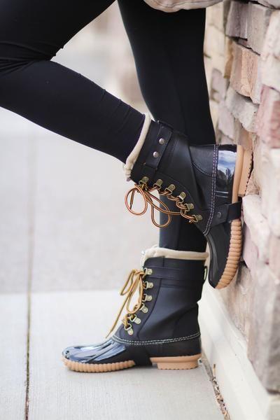 Cape Robin Duck Boots(Black)