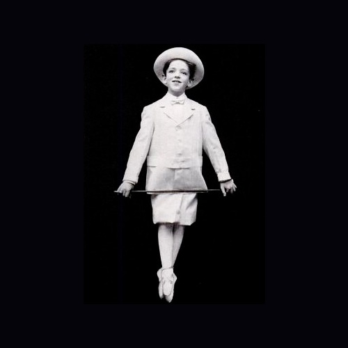 Fred Astaire, age 8.