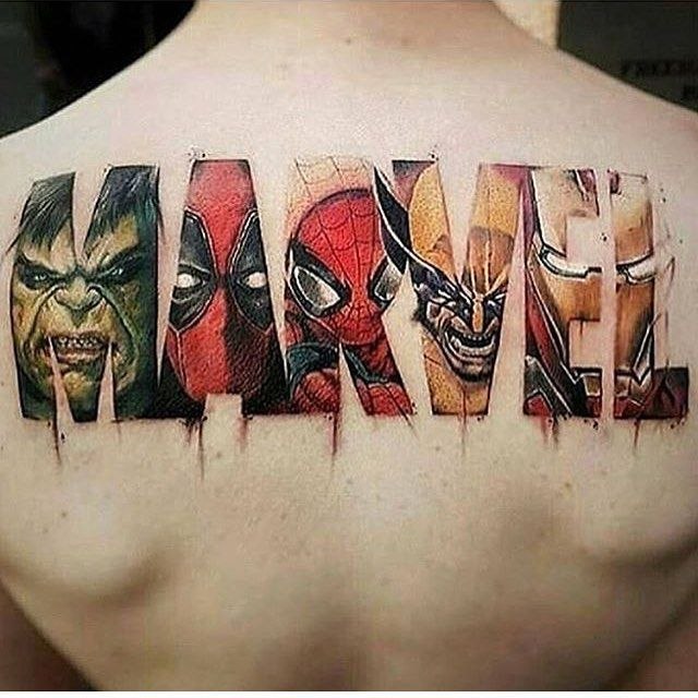 This Marvel Tattoowhat A Fail Ign Boards