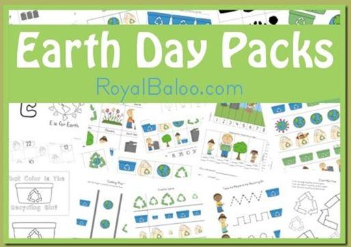 Free Earth Day printable pack - Money Saving Mom®