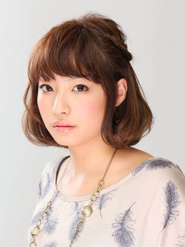 【女子会ヘアアレンジ】ショートもOKな編みこみハーフアップ | All About MICO [ミーコ]