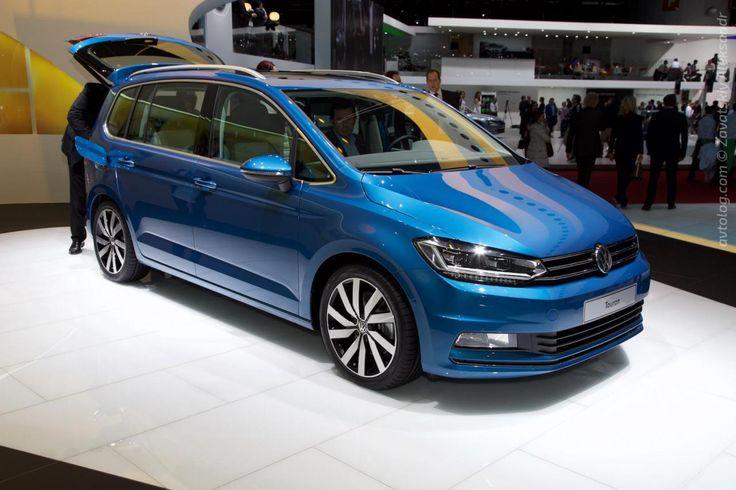 Заостренный 2015 Volkswagen Touran #Volkswagen #Volkswagen_Touran #Geneva_2015 #german_auto_brands #Serial #Android_Auto #Apple_CarPlay