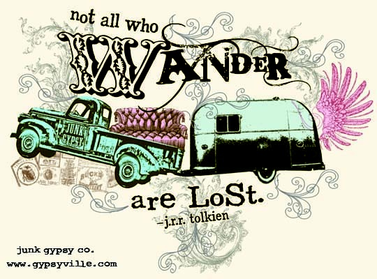 NoT all who WaNDER are LoST ~jrr tolkien