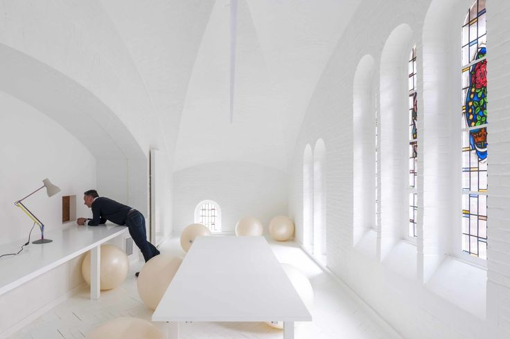 Diversity + space as a work form + Market  rebuilding weekly chapel into a cluster of spiritual spaces  design: tc plus
