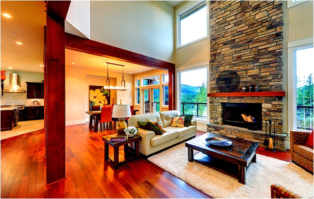 Beautiful Craftsman Style Great Room I Love This