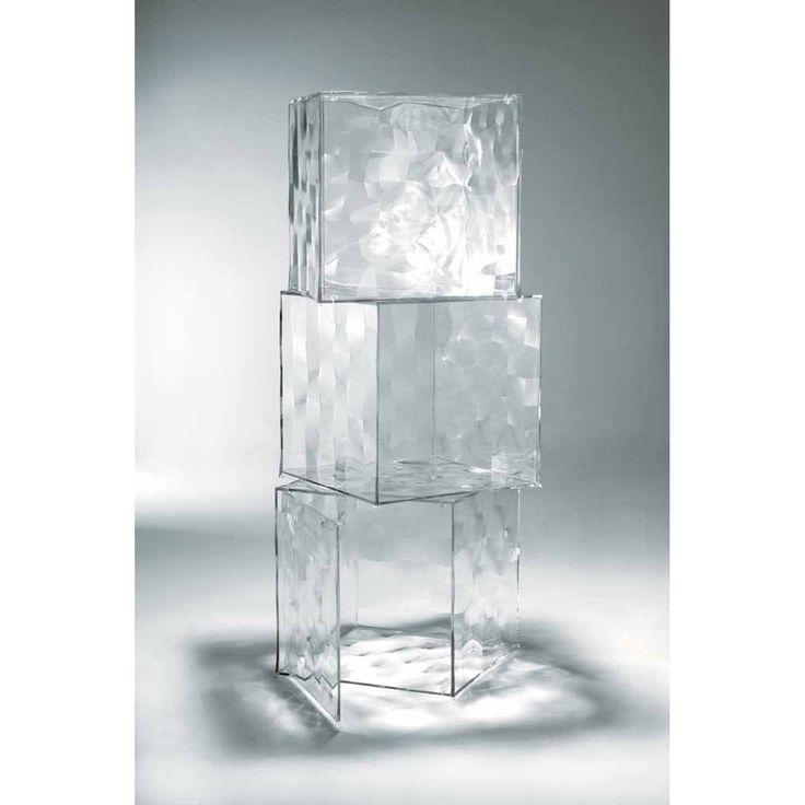 Optic pöytä ovella, läpinäkyvä Kartell - Osta kalusteita verkossa osoitteessa ROOM21.fi