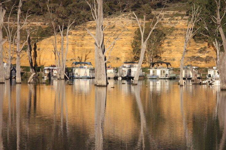 Murray River Reflections - Digital Photography