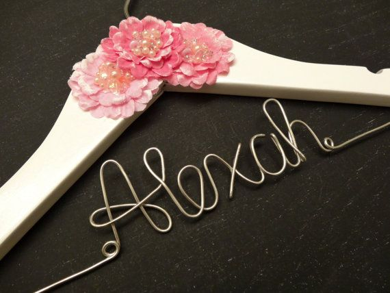 Personalized Children Hanger Personalized Baby by HangItUpHangers