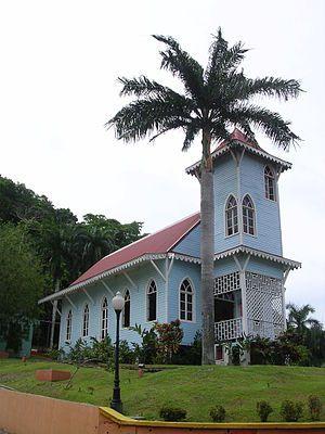 Traditional Panamanian Building