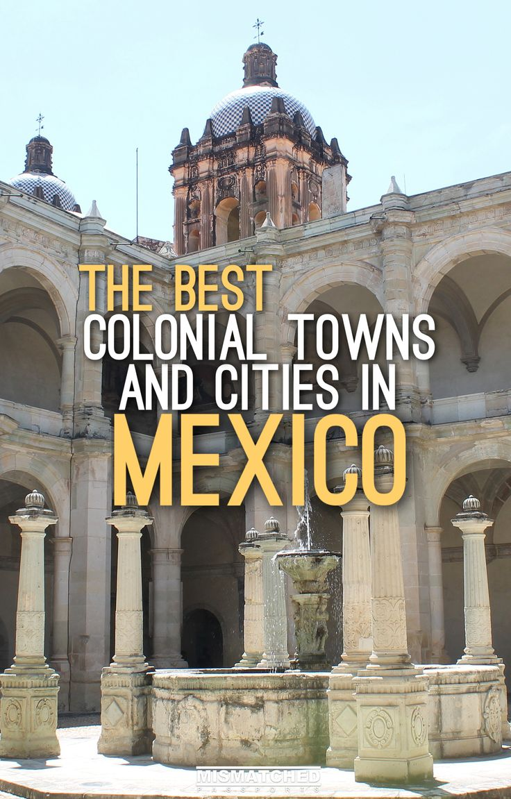 Planning to visit Mexico? Make sure to spend a few days exploring its rich history and colonial architecture. Its beautiful historic towns and cities will leave you in awe. Check out this post for some of the best Colonial Towns and Cities in Mexico!