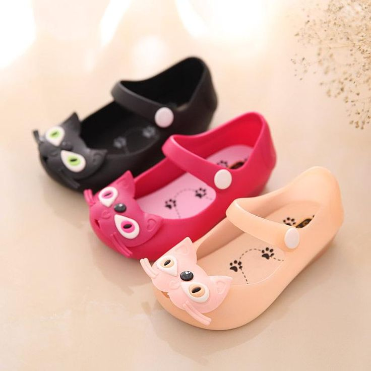 Cat Rubber Jelly Shoes