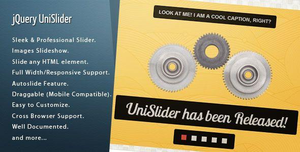 jQuery UniSlider - CodeCanyon Item for Sale