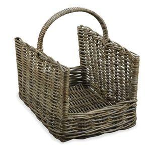 Kubu Rectangular Log Basket