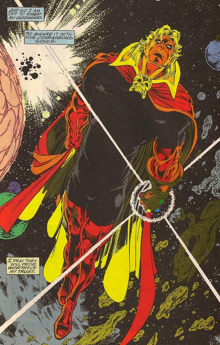 Adam Warlock by Angel Medina | Warlock and the Infinity Watch vol 1 #1