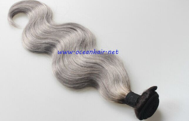 Grey Remy Hair Weft  Shop us👇www.oceanhair.net Contact me👉Trish Whatsapp👉+86-15318708959  Email👉sales6@oceanhair.net 100% Human Hair,100% tangle free ,no smelling,long lasting Wholesale prices & Huge Stock & Fast Deliver & Professional Service & OEM Packing Payment Method: Paypal , Western Union, Money Gram , Bank Transfer  #hairextensions #virginhair #humanhair #remyhair #wholesalehair #hairsupplier #grey #silver
