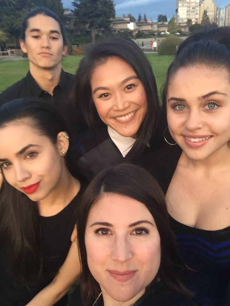 Sofia Carson // and the #Descendants cast