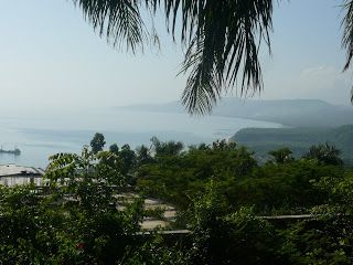 View from an Inn, in the town of Jeremie, Haiti.