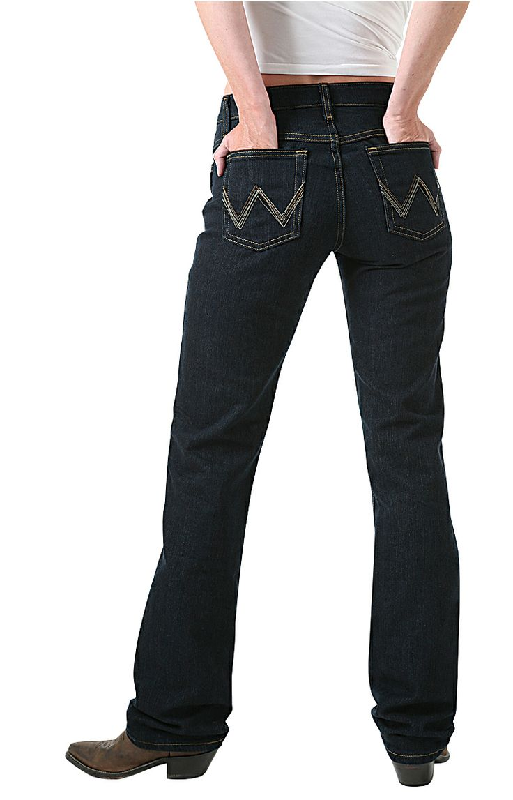 Wrangler Q-Baby Ultimate Riding Womens Jeans | Women's ...