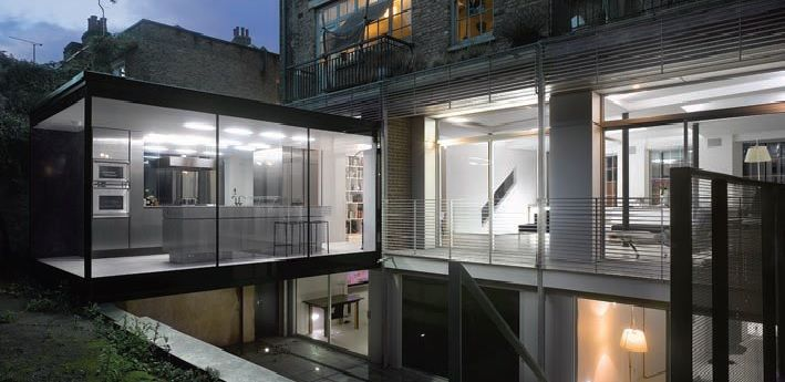 Taylor House, Cross Street, Paul Archer Design