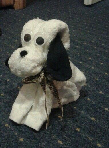 Törölköző - zokni kutya!