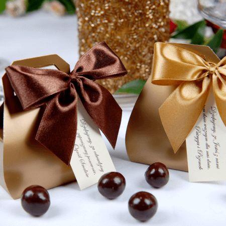 Świąteczne Ozdoby - Złoty Kuferek