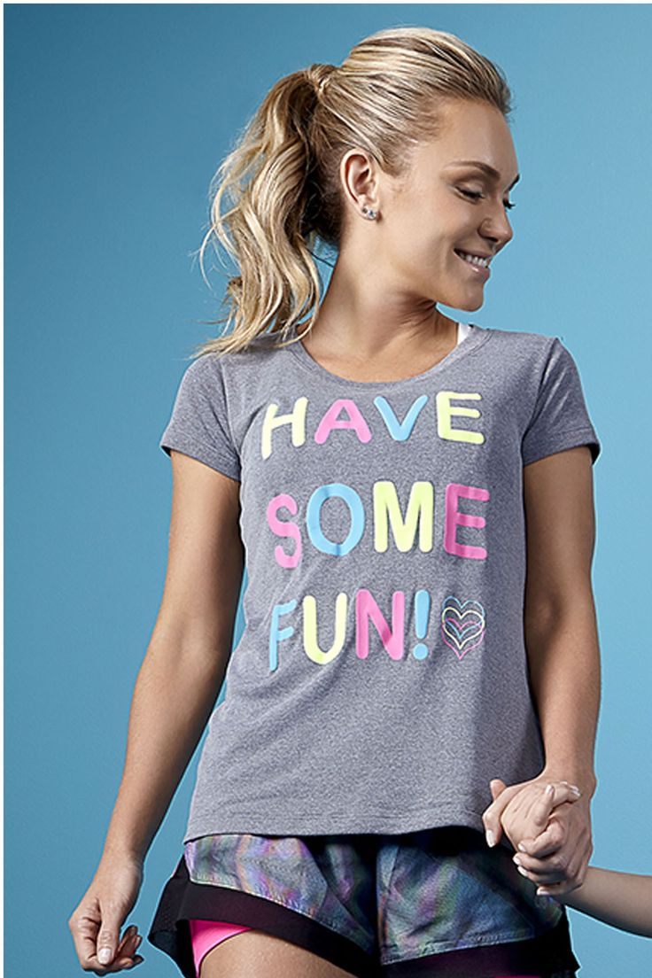 CAMISETA HAVE SOME FUN - Paratifit. Tecnología y moda en deporte