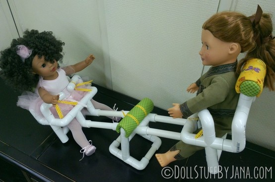 "A teeter-totter for your 18"" dolls! (Play Time pattern #1001AP)"